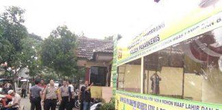 Persiapan Pos Kemanan Polsek Pasar Kemis Di Pospol Kota Bumi Kec.Pasar Kemis
