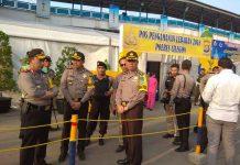 Tinjauan Kapolda Banten Brigjend Pol Lityo Sigit Prabowo Di Pelabuhan Merak
